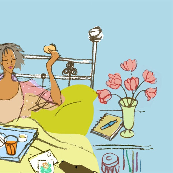 Image of Breakfast in Bed
