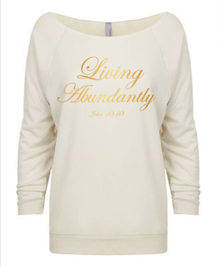 Image of Living Abundantly-Ivory