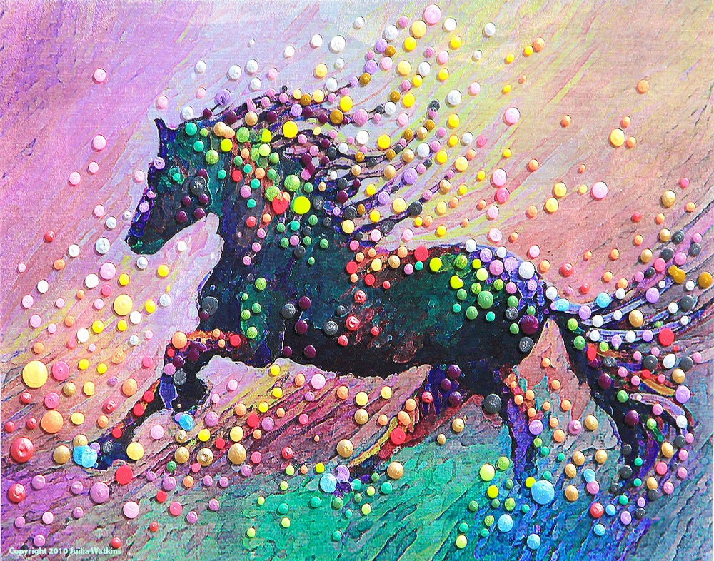 Image of Spirit Horse II - Find the answers within yourself.