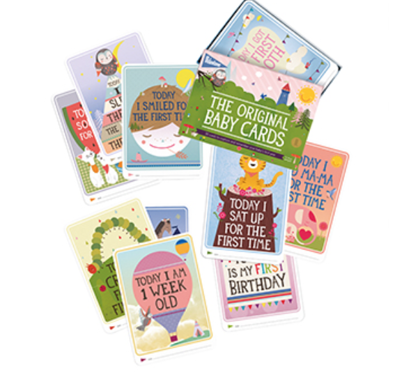 Image of Baby Milestone Cards