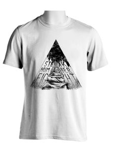 Image of TSHIRT Steak Triangle (WHITE)