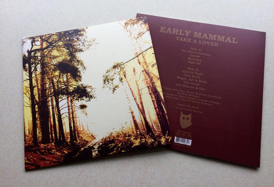 EARLY MAMMAL 'Take A Lover' Gold Vinyl LP