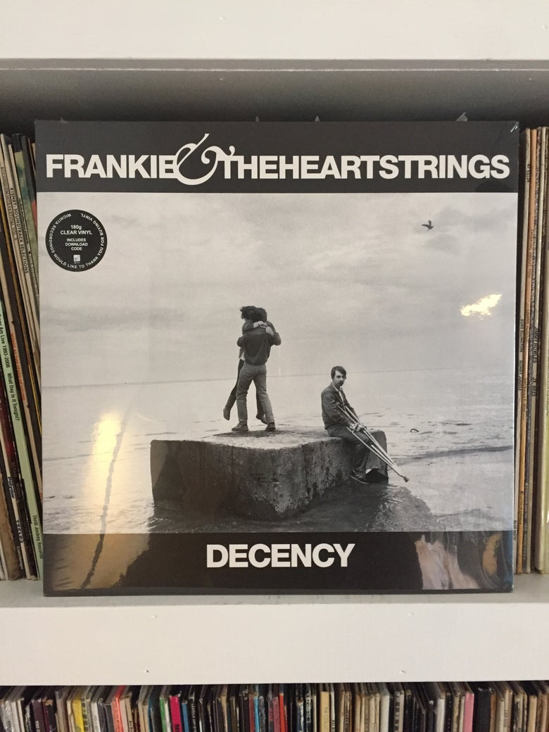 Image of Frankie & The Heartstrings - 'Deceny' LP gatefold album 180g clear vinyl