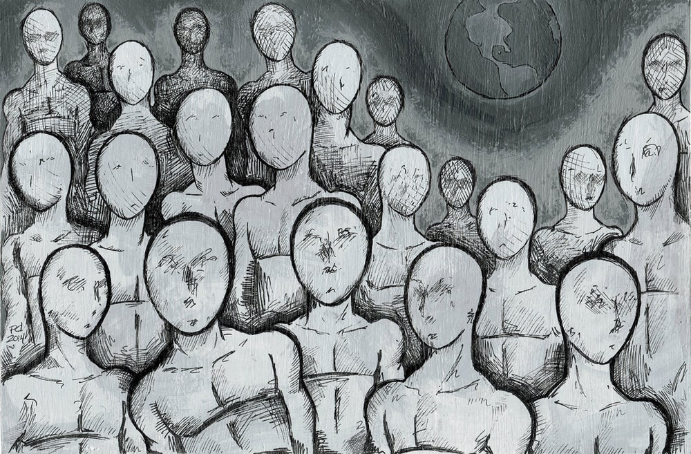 """Image of """"Faces"""" Limited Edition Art Print"""