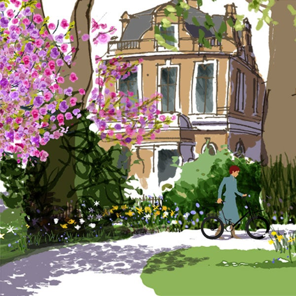 Image of Newington Green, spring