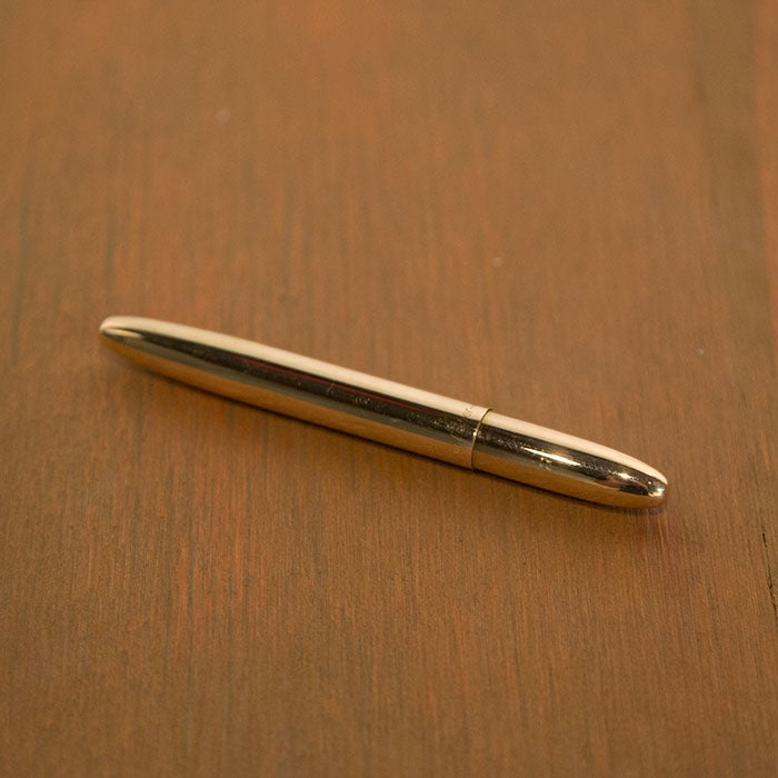 Image of Raw Brass Bullet Fisher Space Pen