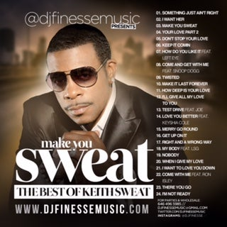 Dj Finesse Mixtapes Make You Sweat Keith Sweat Mix Website Exclusive