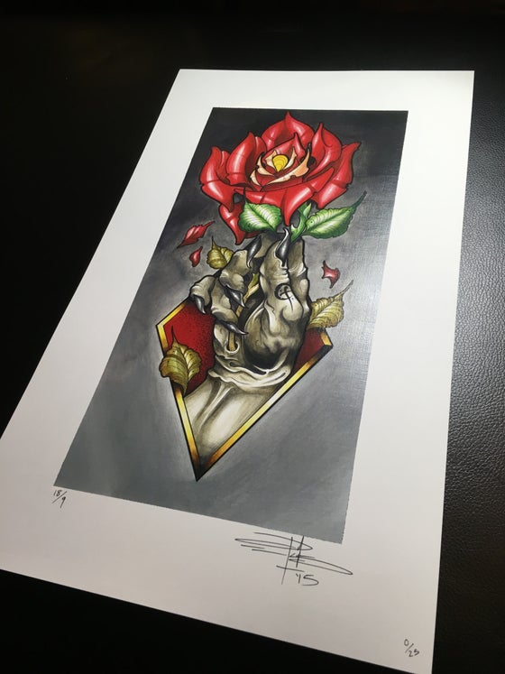 """Image of """"Shallow Grave"""" Print (Run of 25)"""