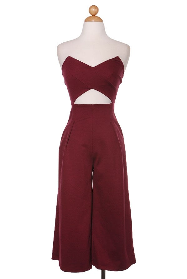 Image of The Culottes Jumpsuit