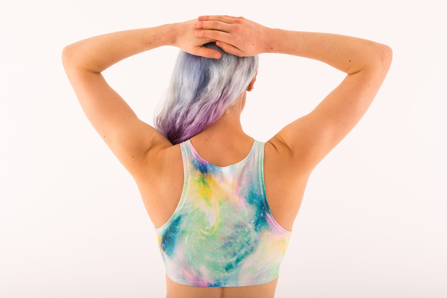 Image of Pastel Galaxy Crop Top