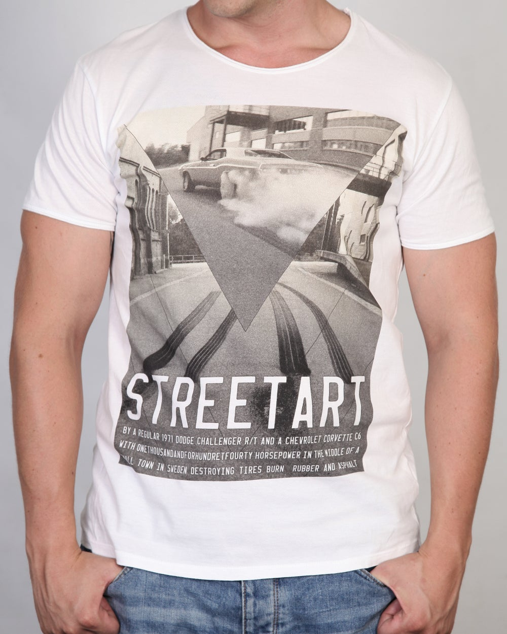"Image of STREETART ""Challenger"" Men T-Shirt"