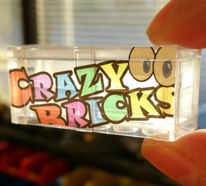 Image of Exclusive STAINED GLASS Edition CrazyBricks Crate