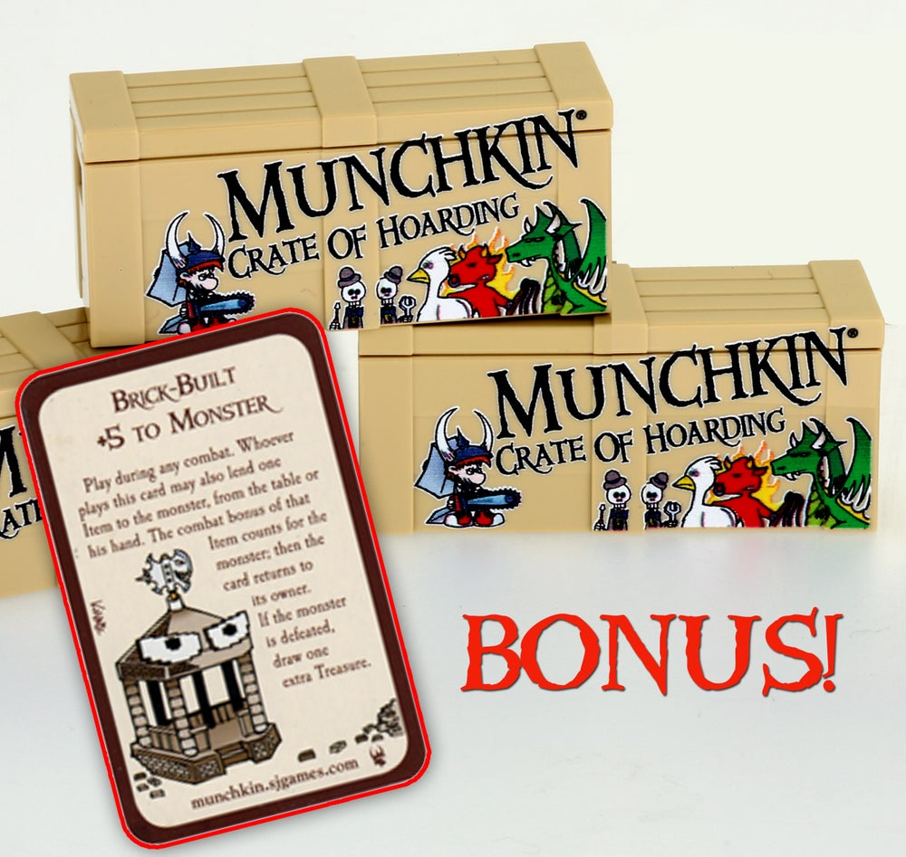Image of Special MUNCHKIN Crate Of Hoarding (NO Card...)