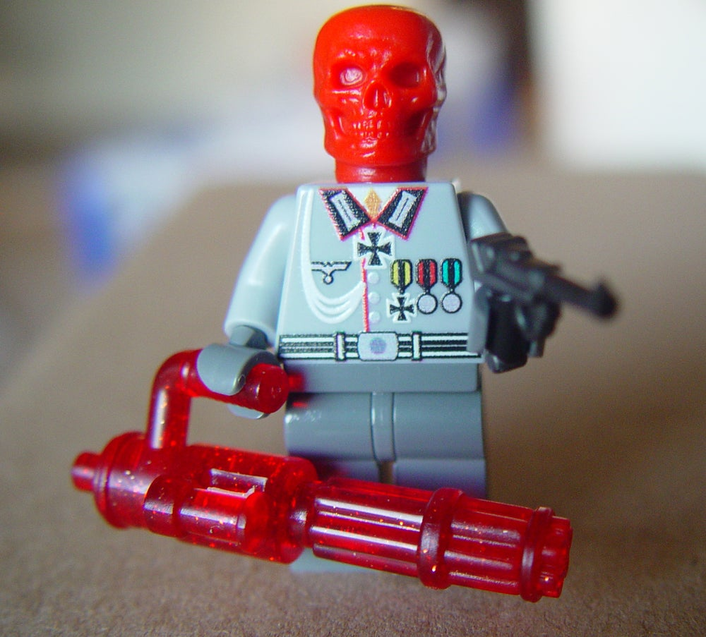Image of Scarlet Skull Custom Minifig - ON SALE!
