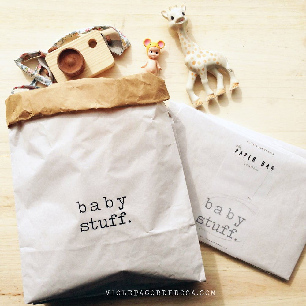 Image of BABY PAPER BAG