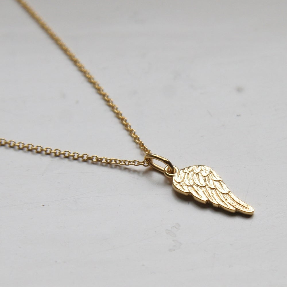 Image of Angel Wing Necklace