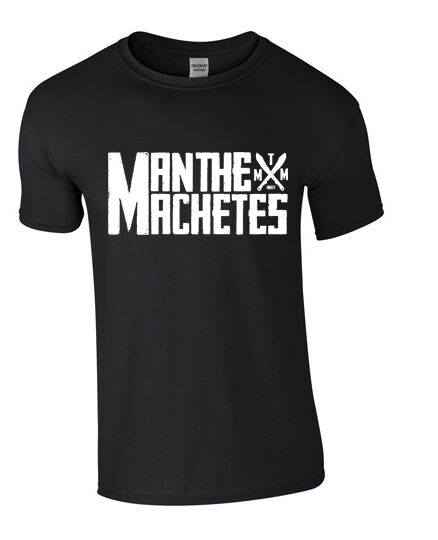 Image of Man The Machetes Black T-shirt (2015)