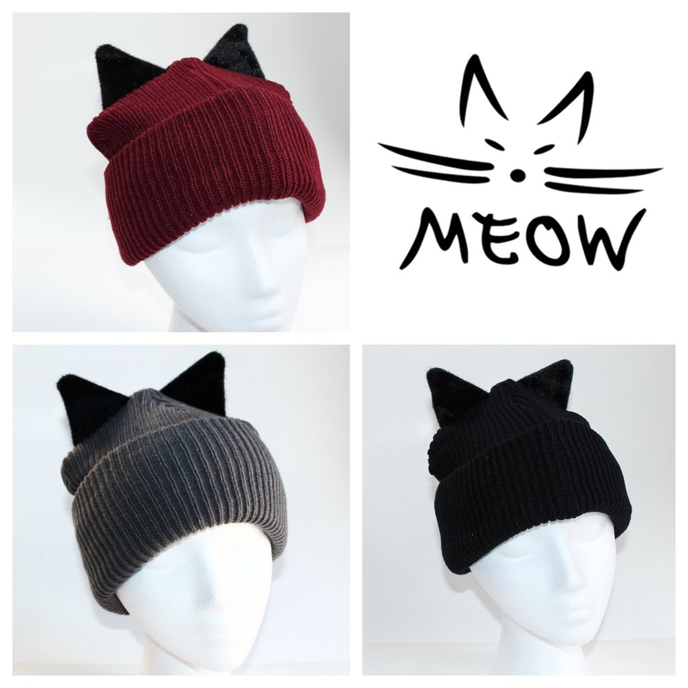 Image of Kitty Beanies