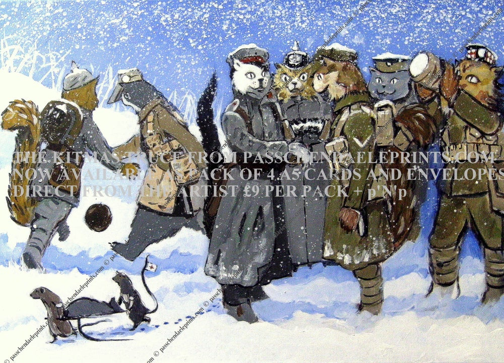 Image of THE KITMAS Truce A5 card pack £9