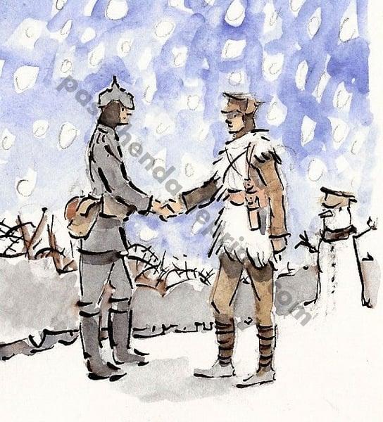 Image of The Christmas Truce ~ The Handshake