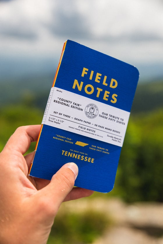 Image of Field Notes 3-Packs (Expedition/TN County Fair/Ruled/Dot Graph)