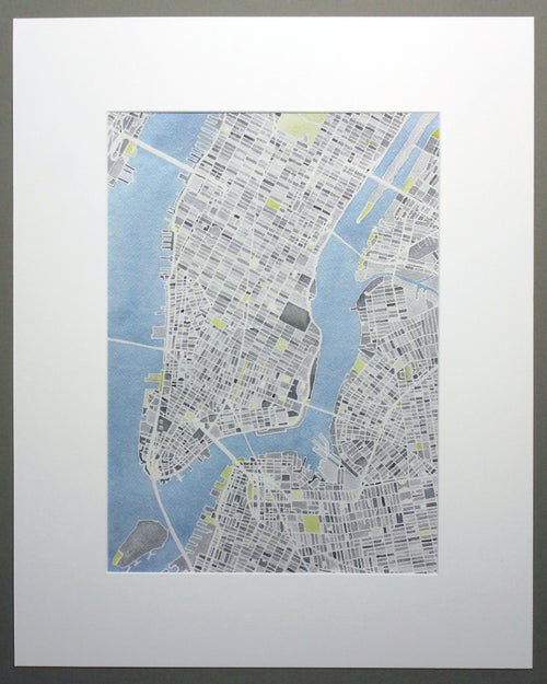 Image of NEW YORK CITY - UNFRAMED