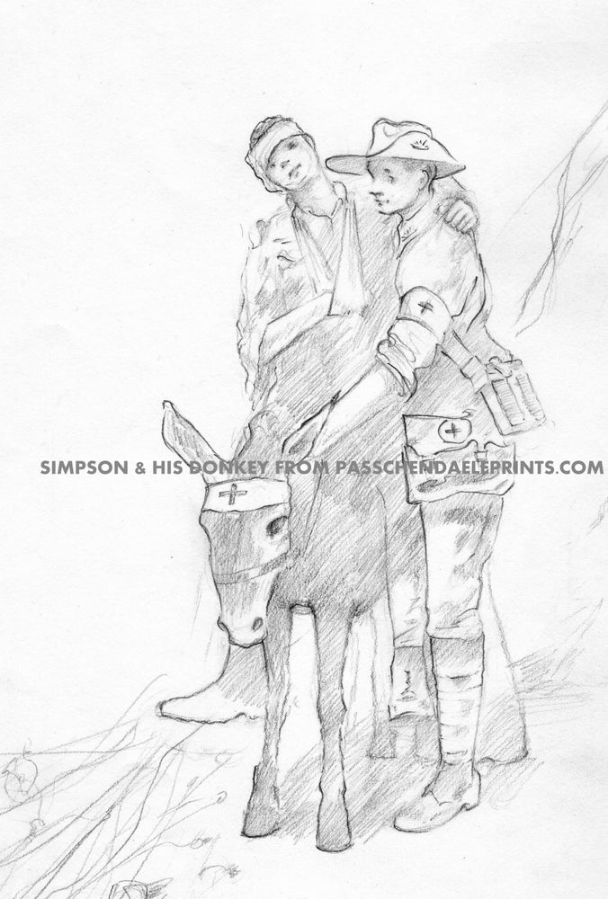 Image of SIMPSON & HIS DONKEY ~ GALLIPOLI