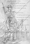 A.E. Housman's poignant poem....
