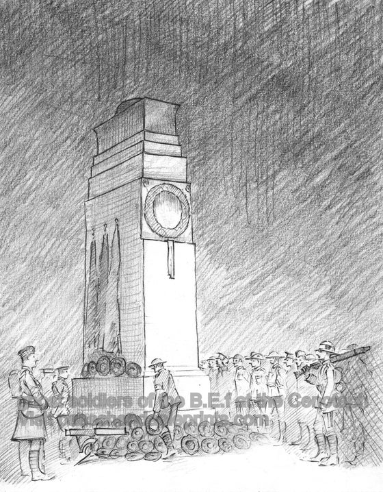 Image of GHOST SOLDIERS AT THE CENOTAPH, LONDON