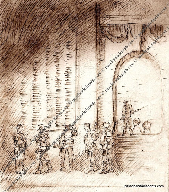Image of Ghost Soldiers The Menin Gate (Sepia)