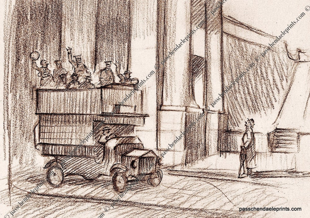 Image of Ghost Bus at the Menin Gate