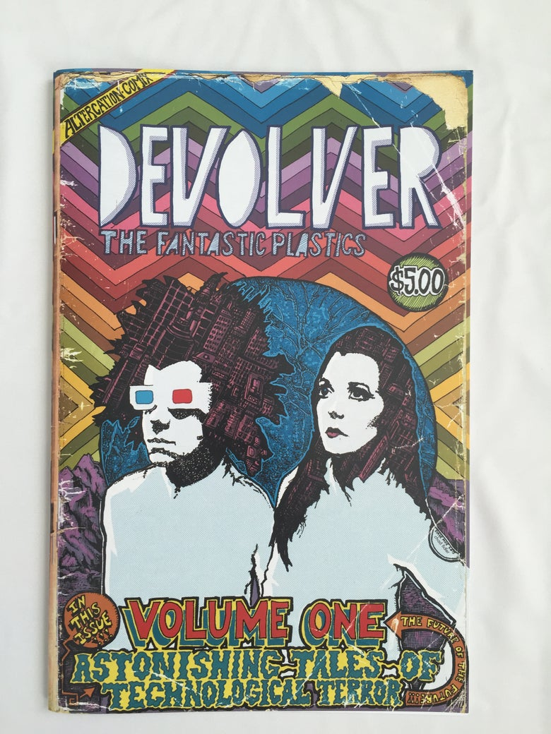 Image of DEVOLVER Graphic Novel of The Fantastic Plastics