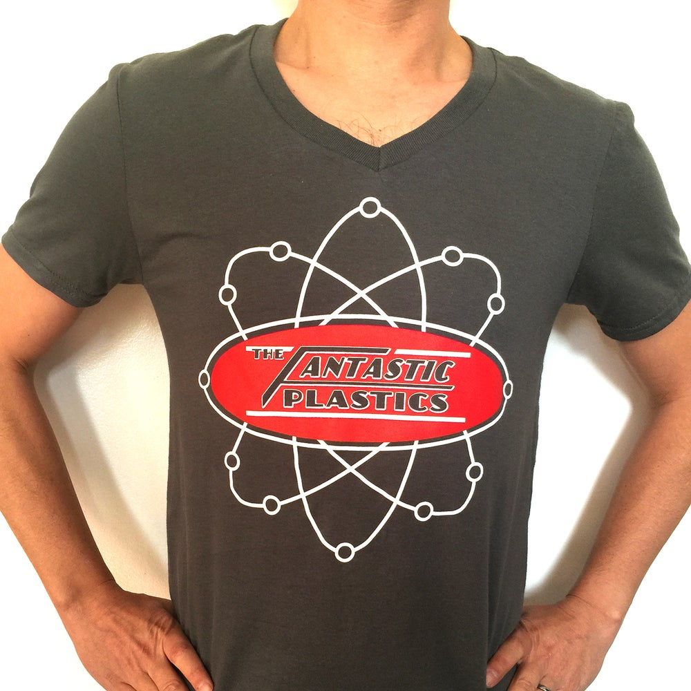 Image of The Fantastic Plastics Atomic Action Logo T Shirt -Unisex