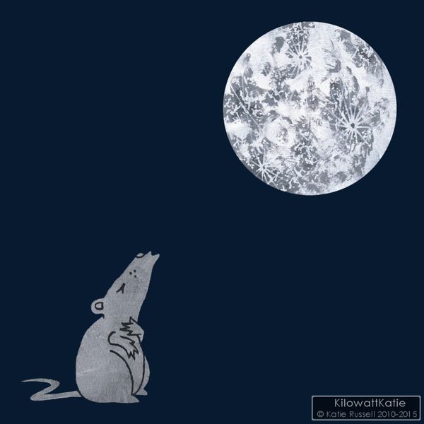 Image of LONELY MOUSE - printed tees