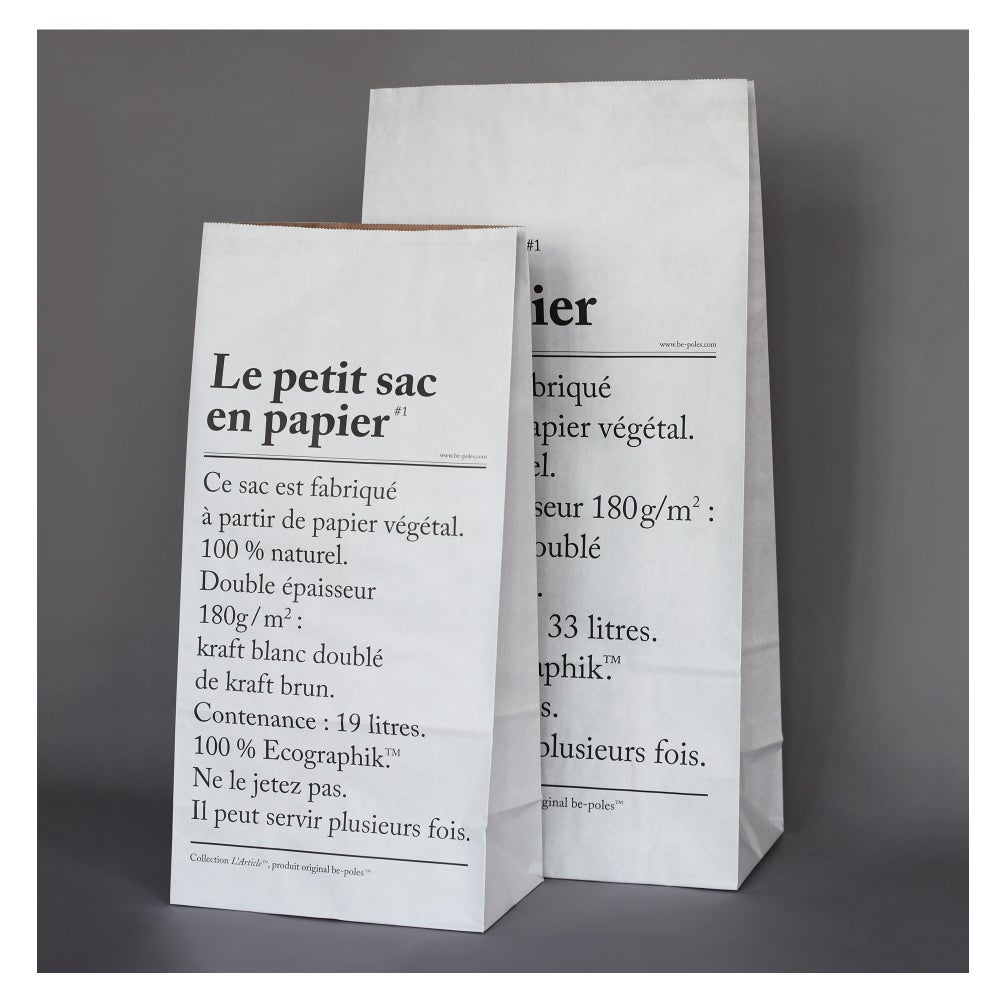 Image of The Little Paper Bag |  Le petit Sac en Papier