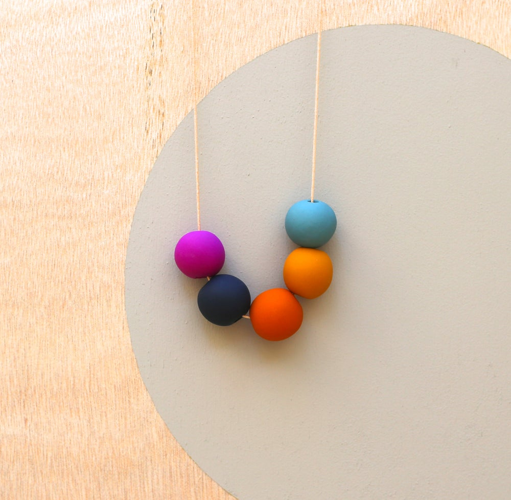 Image of not quite round beads 1