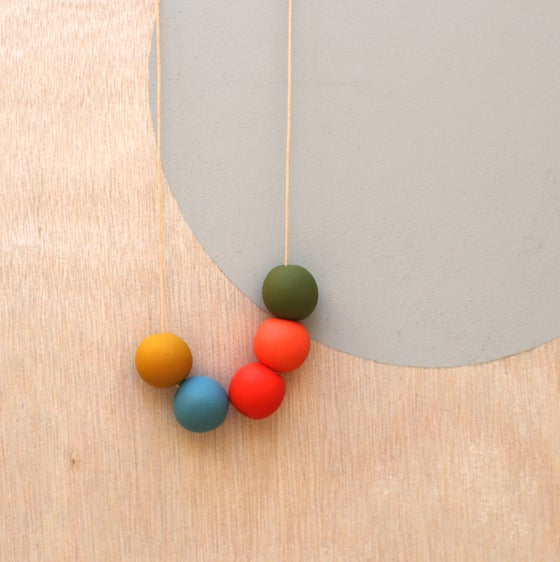 Image of not quite round beads 3