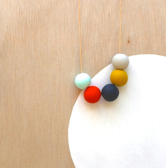 Image of not quite round beads 5