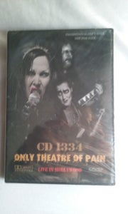 "Image of CD1334 DVD Limited ""Promotional Use "" Only Theater of Pain Live in Hollywood FREE SHIPPING!"