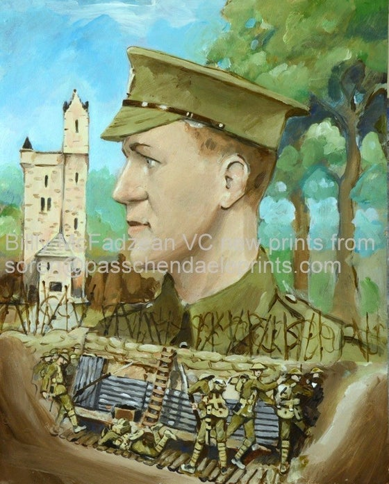 Image of Pte 'Billy' McFadzean VC & The Ulster Tower