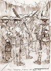 Waiting for the whistle ~ The Somme 1916 SEPIA