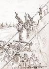 A Bitter Harvest ~ R.A.M.C Stretcher bearers