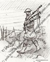 Scots Piper into Battle of The Somme