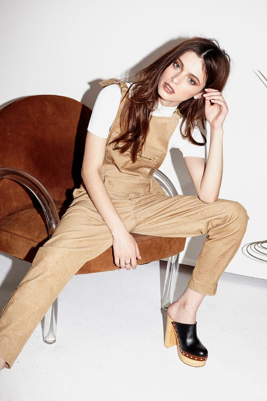 Image of Capulet Camel Corduroy Overall