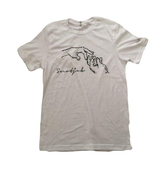 Image of snotjob shirt (white)