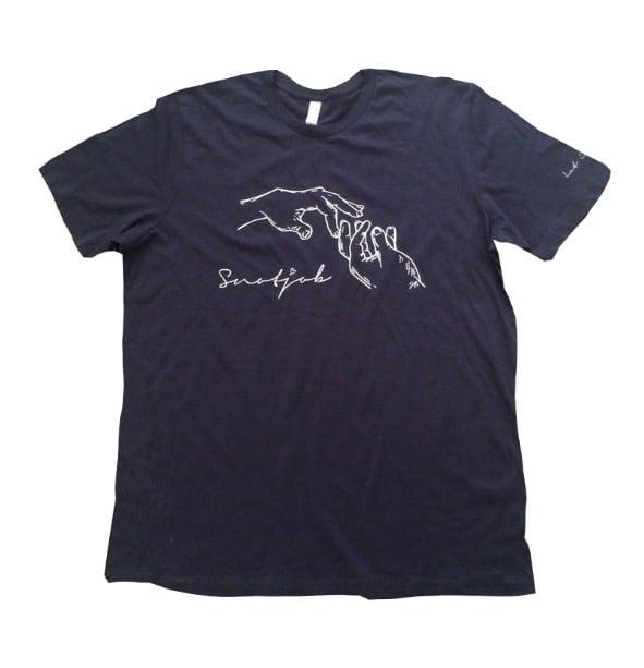 Image of snotjob shirt (navy)