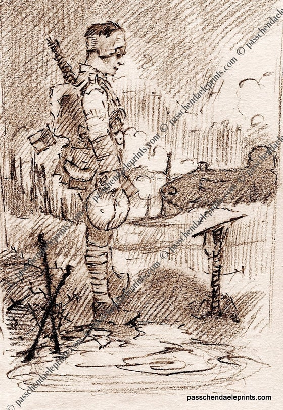 Image of The Brooding Soldier ~ Ypres