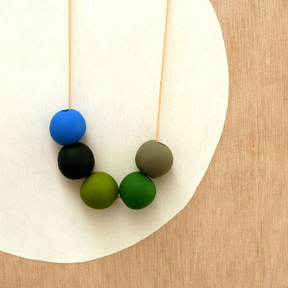 Image of not quite round beads 7