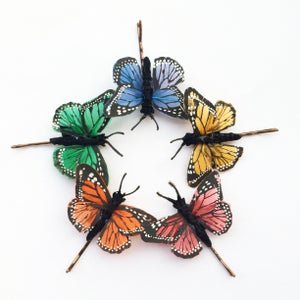 Image of Small Butterfly Hair clips  - 5 colours available SOLD OUT