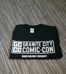 Image of Granite City Comic-Con 'Bank Holiday Monday!' T-shirt